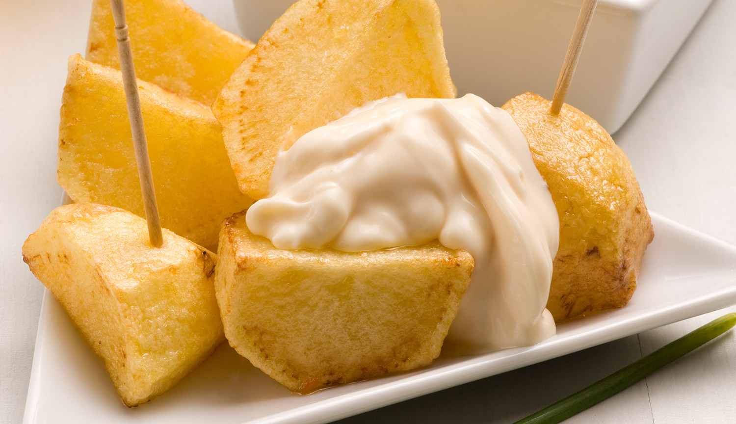 """Potatoes with """"Aioli"""" from Sauce&More"""