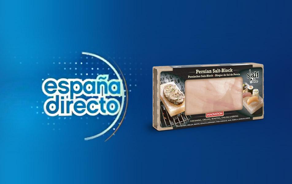 "The Salt-Block in the Spanish TV ""España Directo"""