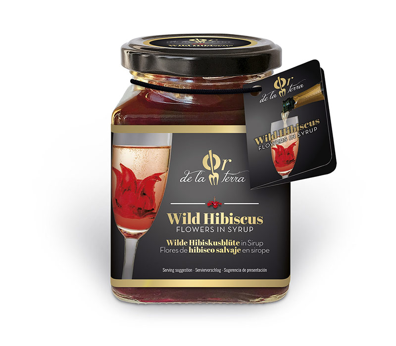 Wild Hibiscus Flowers In Syrup Manolos Food